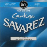 Savarez 510CJ New Cristal Cantiga Classical Guitar Strings High Tension