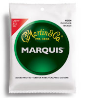 Martin M2100 Marquis Phosphor Bronze Light Acoustic Guitar Strings 12/54