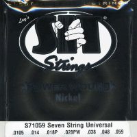 SIT S71059 Universal Power Wound Nickel Electric Guitar Strings 10.5/59