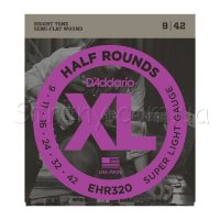 D'Addario EHR320 Half Rounds Super Light 9/42