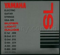 Yamaha GSA-50S Super Light Electric Guitar Strings 9/42