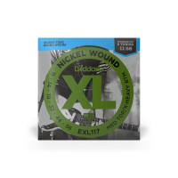 D'Addario EXL117 Medium Top X-Heavy Bottom Electric Guitar Strings 11/56