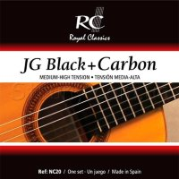 Royal Classics NC20 Black Carbon Classical Guitar Strings