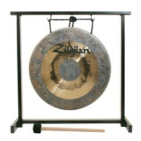 "ZILDJIAN 12"" TRADITIONAL GONG AND TABLETOP STAND SET Гонг"