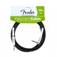 Fender PERFORMANCE INSTRUMENT CABLE 10 ANGLED BK Инструментальный кабель