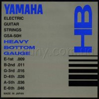 Yamaha GSA-50H Heavy Bottom Electric Guitar Strings 9/46