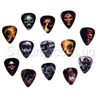 Alice AP-100R2 медиатор Skull Series Guitar Picks