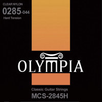 Olympia MCS-2845H Classical Guitar Strings Nylon Hard Tension 28/44