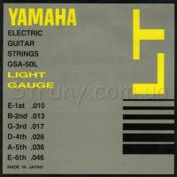 Yamaha GSA-50L Light Electric Guitar Strings 10/46