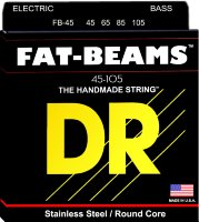 DR FB-45 Fat Beams 4 String Medium Bass Strings 45/105