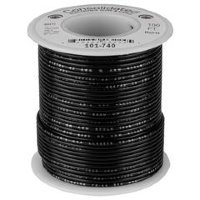 Consolidated 101-740 Black Провод ПВС PVC 22AWG