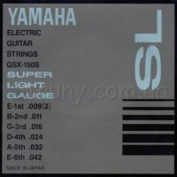 Yamaha GSX-150S Super Light Electric Guitar Strings 9/42