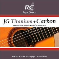 Royal Classics TTC30 Titanium Carbon Classical Guitar Strings