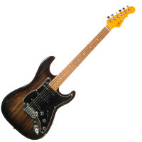 G&L LEGACY Semi-Hollow (Blackburst,3-Ply Black. Rosewood)