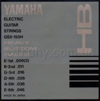 Yamaha GSX-150H Heavy Bottom Electric Guitar Strings 9/46