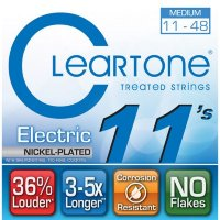 Cleartone 9411 Coated Electric Guitar Strings Medium 11/48