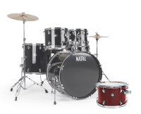 NATAL DRUMS DNA US FUSION DRUM KIT RED HARDWARE PACK Ударная установка