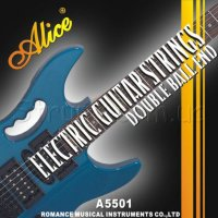 Alice A5501 Double Ball End Струны электрогитары никель 10/46