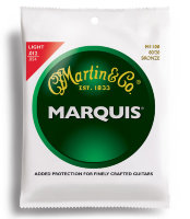 Martin M1100 Marquis 80/20 Bronze Light Acoustic Guitar Strings 12/54