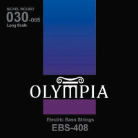 Olympia EBS-408 Nickel Wound Long Scale Electric Bass Strings 30/85