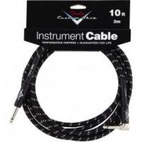 Fender CUSTOM SHOP PERFORMANCE CABLE 10 ANGLED BTW Инструментальный кабель