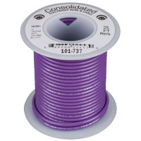 Consolidated 9305-7 Violet Провод ПВС PVC 24AWG UL1061 600V