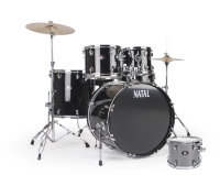 NATAL DRUMS DNA US FUSION DRUM KIT SILVER HARDWARE PACK Ударная установка