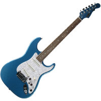 G&L S500(Lake Placid Blue. 3-Ply Pearl Pickguar. Rosewood)