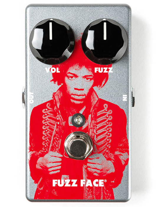 Педаль ефектів Dunlop JHM5 Jimi Hendrix Fuzz Face Distortion Фузз дисторшн
