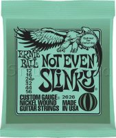 Ernie Ball 2626 Not Even Slinky Nickel Wound 12/56