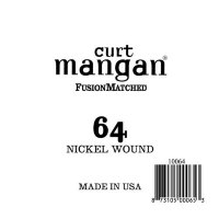 Curt Mangan 10064 64 Nickel Wound Ball End