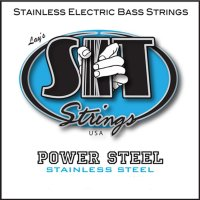 SIT PSR45105L Power Steel Stainless Medium Light Electric Bass Strings 45/105