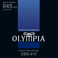 Olympia EBS-415 Nickel Wound Long Scale Electric Bass Strings 45/105