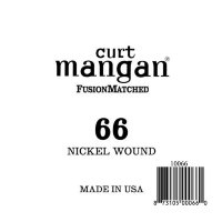 Curt Mangan 10066 66 Nickel Wound Ball End