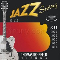 Thomastik-Infeld JS111 Jazz Swing Light Flatwound Electric Guitar Strings 11/47