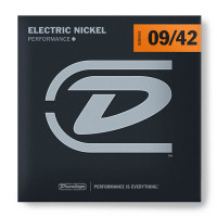 Dunlop DEN0942 Light Nickel Plated Steel Electric Guitar Strings 9/42