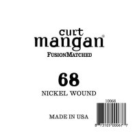 Curt Mangan 10068 68 Nickel Wound Ball End