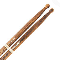 Promark TXDCBYOSW-FG Bring Your Own Style - BYOS FireGrain Hickory Oval Wood Tip Барабанные палочки